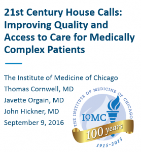 list of Home centered care institute Presenters at IoMC