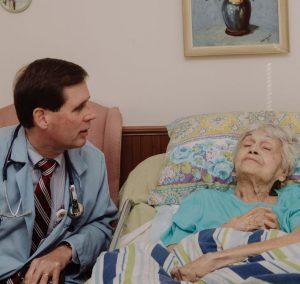 Tom Cornwell MD on house call visit