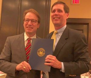 Rep Peter Roskam and Tom Cornwell