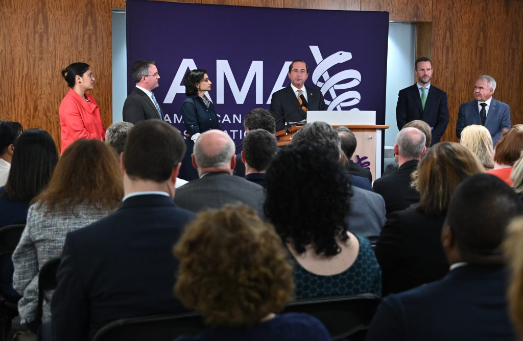 Secretary of Health and Human Services Alex M. Azar CMS Primary Cares Press Conference