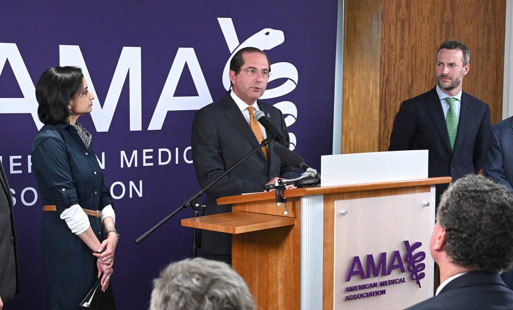 Secretary of Health & Human Services Alex M. Azar Remarks American Medical Association