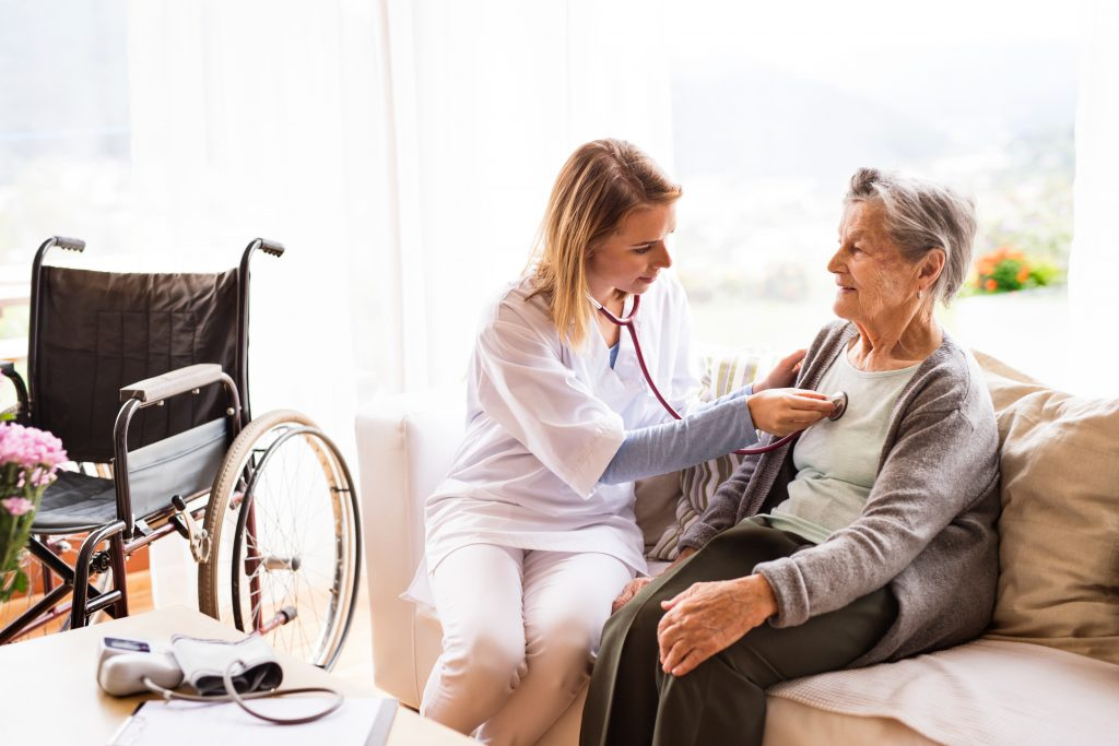 Home visit from nurse practitioner