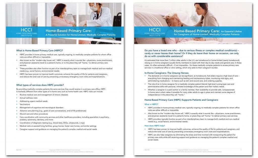 HBPC Consumer Resources